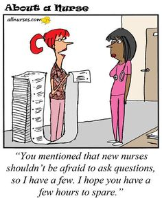 Advice to my younger self as a new nurse -- #rn #nurse #nursing