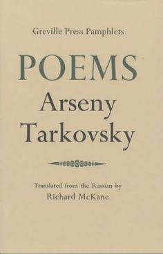 Poems - Arseny Tarkovsky