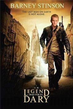 Barney Stinson..  this just made my day!!
