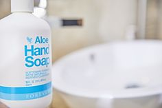 #Aloe Hand Soap with its light #chamomile scent is exactly what your #skin needs to feel cleansed and conditioned.