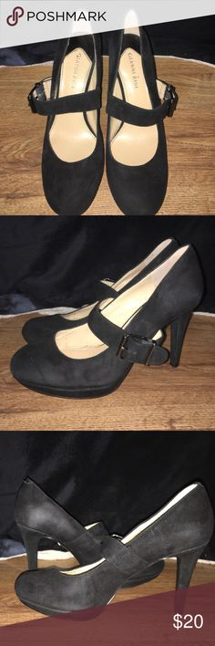 Gianni Bini Mary Jame heels Sz 7.5M Black Sz- 7.5M..... Gianni Bini.. Style- Mary Jane.....Color -black..... Worn a handful of times but still in EXCELLENT used condition.  No scuffs or scratches. Gianni Bini  Shoes Heels