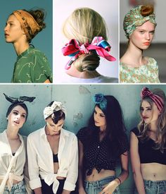 Trend Spot: Hairstylin' With Scarves