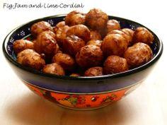 Spiced Roasted Macadamia Nuts