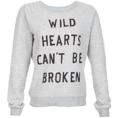 Zoe Karssen Wild Heart Quilted Shoulder Sweatshirt ($99) ❤ liked on Polyvore featuring tops, hoodies, sweatshirts, shirts, sweaters, sweatshirt, grey, quilted top, gray shirt and grey shirt