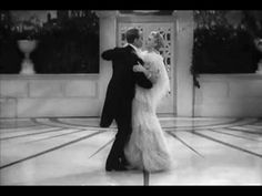 Because I'm aways smiling when watching this: Fred Astaire and Ginger Rogers dancing cheek to cheek