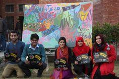 #GlowGraffiti visits these bright people at NFC