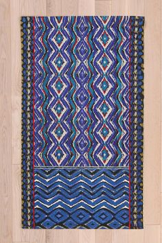 Magical Thinking Painted Kilim Rug