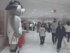 "gif-overdose: Example of the ""fight-or-flight"" response.more gifs here"