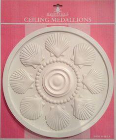 Nautical ceiling medallions by Marie Ricci.