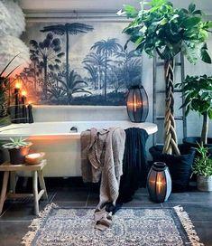 Amazing Bathroom Wall Decor Ideas Will Inspire Your Home / Design Bad Inspiration, Bathroom Inspiration, Interior Inspiration, Bathroom Ideas, Zen Bathroom Decor, Bathroom Goals, Bathroom Plants, Simple Bathroom, Bathroom Designs