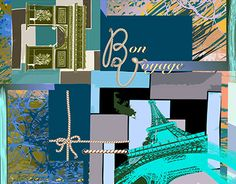 """Check out new work on my @Behance portfolio: """"Silk scarf 'Douce France'"""" http://be.net/gallery/41201433/Silk-scarf-Douce-France"""