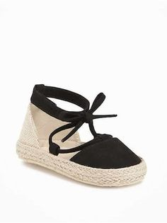 Little girl shoesShop Old Navy for baby girl shoes and accessories which include cute shoes, booties, hats, socks and more for the baby fashionista.Sueded Lace-Up Espadrilles for BabyThe baby girl clothes collection at Old Navy has all the latest sty Little Girl Shoes, Cute Baby Shoes, Little Girl Outfits, Baby Girl Shoes, Kid Shoes, Girls Shoes, Kids Outfits, Baby Girls, Toddler Shoes For Girls