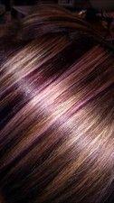 Hair color dark brown violet low lights 37 Ideas Source by ernserhelenswaniawski Low Lights Hair, Light Hair, Hair Color And Cut, Hair Color Dark, Color Red, Hair And Makeup Tips, Hair Makeup, Great Hair, Hair Highlights