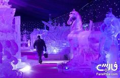 فستیوال یخ در بلژیک