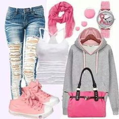 Pink  cool , fashion