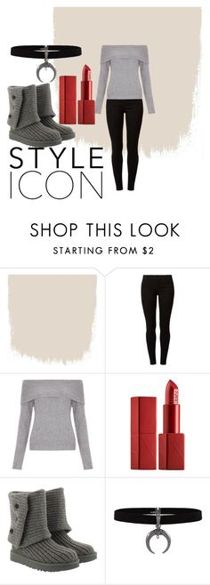 """Untitled #23"" by interstellar-designer ❤ liked on Polyvore featuring Dorothy Perkins, New Look, NARS Cosmetics and UGG"