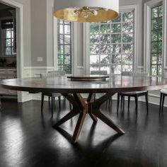 Round Tables Joliet, IL - Rustic Elements Furniture 60 Inch Round Table, Round Tables, Custom Furniture, Home Kitchens, Dining Table, Rustic, City, Wood, House