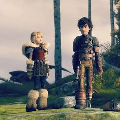 I'm in love with the way Astrid looks at Hiccup