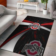Ohio State Decor, Ohio State Wreath, Ohio State Buckeyes, Teen Stores, Living Room Carpet, Rug Making, Rugs On Carpet, Bedding Sets, Digital Prints