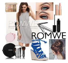 """Romwe Casual Dress - Contest Entry (2)"" by bhappygirlz ❤ liked on Polyvore featuring Marc Jacobs and Chanel"