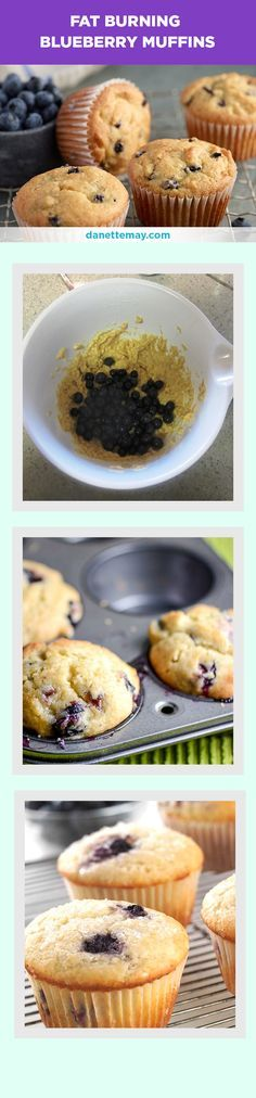 This is one of my most popular recipes for a reason! It's a healthy blueberry muffin recipe that is easy and delicious!  If you want more quick and easy fat burning recipes like this, get my Bikini Body Recipes book here --> http://www.eatdrinkshrinkplan.com/bikini-body-recipes-offer/index.html
