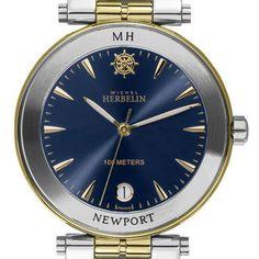michelle herbelin watches   Michel Herbelin watches: Michel Herbelin Newport marine 12286/BT35