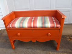 Repurposed Antique Dresser made into a Bench with Storage - Etsy