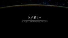 Earth by Michael König. Time lapse sequences of photographs taken by the crew of expeditions
