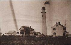 Fenwick Island Lighthouse, Delaware - Image circa 1897