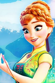 anna frozen - Google Search