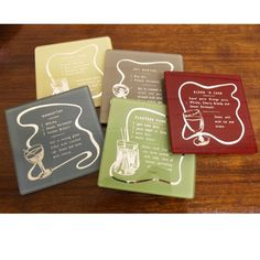 Drink Coasters sweets sweets