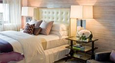 From New York city based architect and designer Campion Platt. New York Bedroom, Home Bedroom, Bedroom Ideas, Nyc Real Estate, Pretty Bedroom, Building A New Home, Beautiful Bedrooms, Glamorous Bedrooms, Upholstered Beds