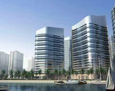 Dubai Waterfront, Skyscraper, Multi Story Building, Architecture, Luxury, City, Design, Future Buildings, Arquitetura