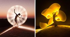 Light-Painting: We Travel Around The World To Create Fantasy Portraits | Bored Panda