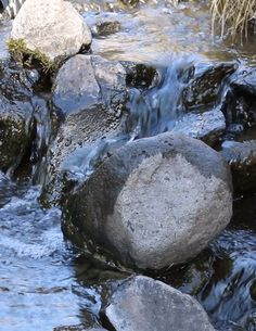 rivermusic:  Moments in Blue A fresh cascade flows east to the River gif by rivermusic, October 2015