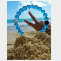 2- M Blue LOKAI Bracelets- BOGO BUY ONE GET ONE Brand new and authentic!!! Sale comes with 2!! Lokai Jewelry Bracelets