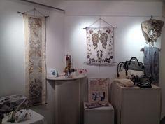 Stand d'expos créations originales de Tataki-Zomé par Corinne Jacquel  maison du Bailli Épinal