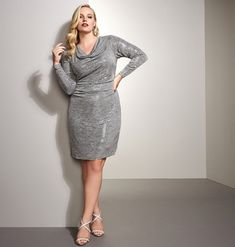 Find plus size special occasion dresses in soft, knit fabrics like the Allover Sequin Sheath available online at avenue.com. Avenue Store