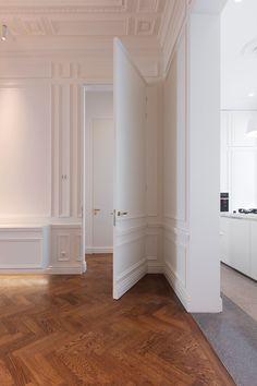 A Dreamy Parisian Style Apartment House Design, House, Interior, Home, Living Room Interior, House Interior, Parisian Apartment Decor, Interior Design, Parisian Interior