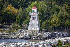 The Light at South Baymouth by Mikell Herrick Manitoulin Island, Lighthouses, Ontario, Places To Travel, Places Ive Been, Beautiful Places, Explore, World, Building