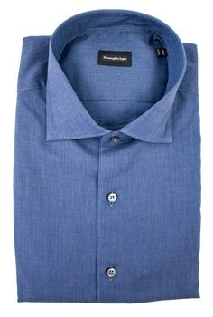 The look of denim & the softness of cotton, this Zegna shirt has got it all.     Get in there! http://www.frieschskys.com/all-shirts/dress-shirts     #frieschskys #mensfashion #fashion #mensstyle #style #moda #menswear #dapper #stylish #MadeInItaly #Italy #couture #highfashion #designer #shopping