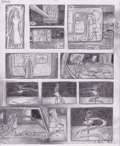 Cress comic page 2 Based off of the first chapter of Cress by Marissa Meyer
