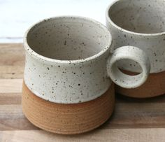 Rustic Speckled Handmade Mug. Rustic Speckled Handmade Mug. - Rustic Speckled Handmade Mug. Rustic Speckled Handmade Mug. Stoneware Clay, Ceramic Cups, Ceramic Art, Porcelain Clay, Pottery Mugs, Ceramic Pottery, Slab Pottery, Pottery Ideas, Glazed Pottery