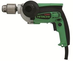 Hitachi Corded Drill/Driver for sale online Cordless Drill Reviews, Cordless Hammer Drill, Electric Hammer, Corded Drill, Speed Drills, Cordless Circular Saw, Drill Driver, House In The Woods, Power Tools
