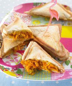 Käse-Möhren-Sandwich Rezept - [ESSEN UND TRINKEN]