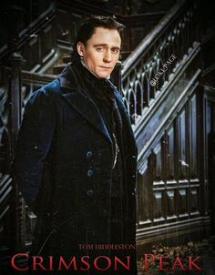 Your first official looks at Tom Hiddleston (Thor: The Dark World) and Mia Wasikowska (Alice in Wonderland) in director Guillermo del Toro's spooky gothic romance Crimson Peak. Hit the jump to see four new images, and new plot details. Mia Wasikowska, Tom Hiddleston Crimson Peak, Tom Hiddleston Funny, Thomas Sharpe, Thomas William Hiddleston, Film Review, British Actors, British Artists, British Boys