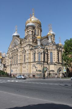 The architecture of St. Petersburg