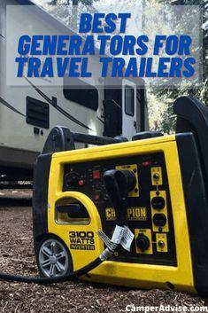 Camper Life, Diy Camper, Rv Life, Best Travel Trailers, Camper Trailers, Rv Camping, Camping Hacks, Camping Ideas, Travel Trailer Generator