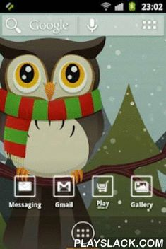 "Cute Owl ADWTheme  Android App - playslack.com , Personalize now your phone with a fantastic theme! Your display will be very colored with white neon buttons.Owls are very known for their big eyes. The moonlight and the mystery will hypnotize you!----3 DIFFERENT WALLPAPERS TO CHOOSE---To use this theme, you need to install ""ADWTheme"". You will receive instruction about configuration, it's very simple.For any query, question, complaint and suggestion do not hesitate to contact us. This…"