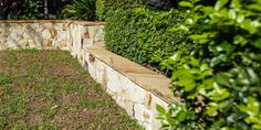 Nostra is a free form of cladding and is available in one-piece corner sections and matching rock-faced capping. Stone Cladding, Wall Cladding, Sandstone Wall, Garden Projects, Corner, Rock, Free, Wall Trim, Skirt